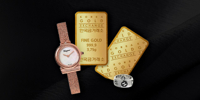 [시계/주얼리/순금] Golden 4 Days
