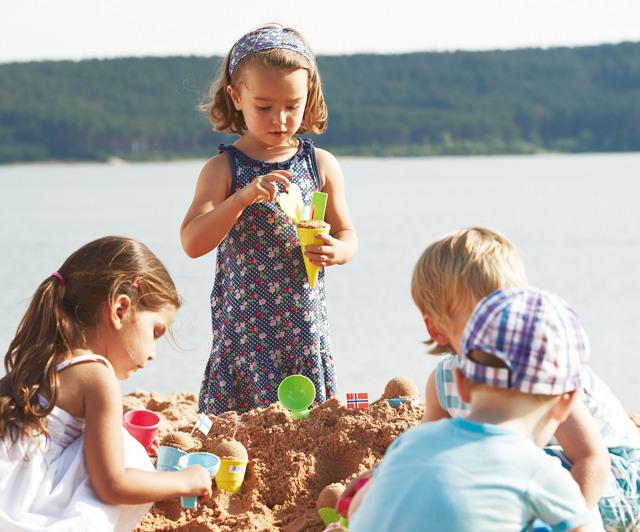 유아동 여름 놀이터