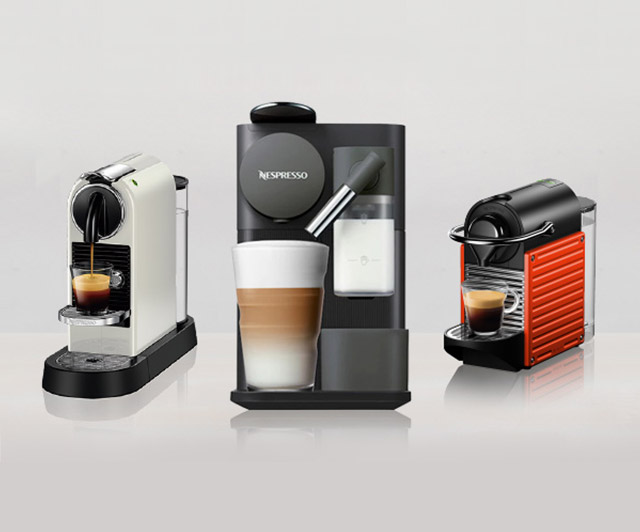 네스프레소 캡슐 커피머신