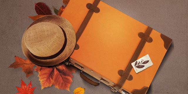 가을여행 포인트룩 이거 Autumn?