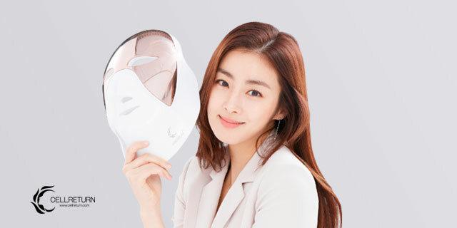 피부 고민 해결책 셀리턴 LED 마스크