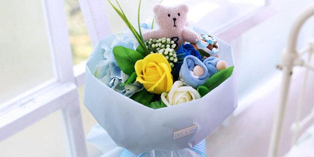 [꽃배달] 기막힌 출산선물, 아기옷 상품전