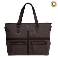 [builford] 빌포드 May Vintage Tote Bag-Dark Oak