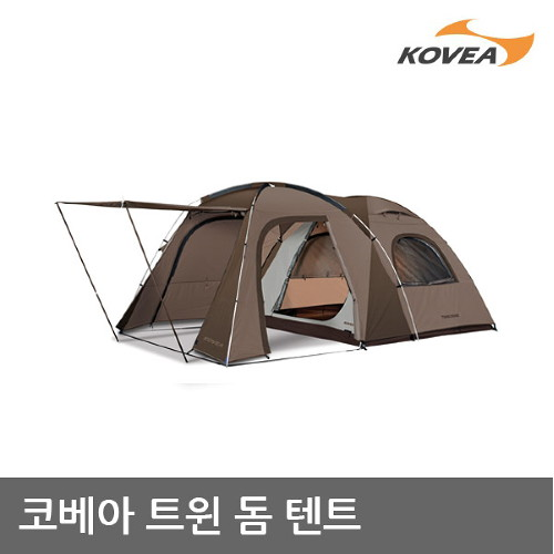 S4 코베아 트윈돔 텐트 4인용 실속 거실형 KECW9TO-02