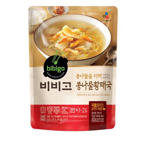 [CJ제일제당] 비비고 콩나물황태국 500g