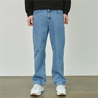 [COUCOU] SEMI WIDE BLUE WASH JEAN_DENIM