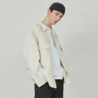 [COUCOU] [4월9일목 예약발송] WORKER CROP JACKET_CREAM