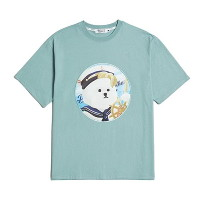 [비욘드클로젯] PINUP MARINE DOG PATCH 1/2 T-SHIRTS 2020VER EMERALD