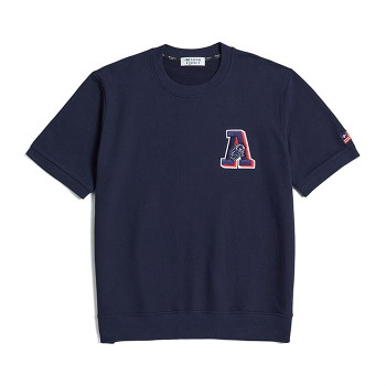 [비욘드클로젯] APOLLO WAPPEN 1/2 SWEAT-SHIRTS NAVY