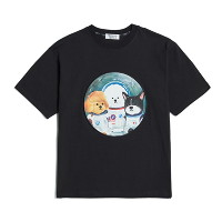 [비욘드클로젯] 50TH EDITION APOLLO CREW 1/2 T-SHIRTS BLACK