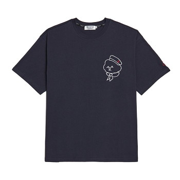[비욘드클로젯] ROPE MARINE DOG 1/2 T-SHIRTS NAVY