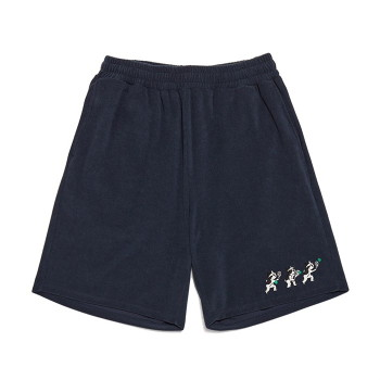 [비욘드클로젯] [Ball Collection]BC TENNIS TOWEL 1/2 PANTS NAVY