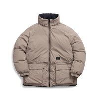 Reversible Down Jacket (Sand)