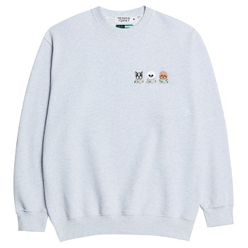 [비욘드클로젯] NAPC CREW LOGO SWEAT-SHIRTS GRAY