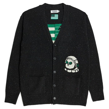 [비욘드클로젯] NAPC SPACE WOOL CARDIGAN BLACK