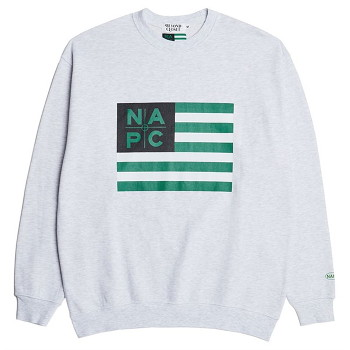 [비욘드클로젯] NAPC OG FLAG SWEAT SHIRTS GRAY