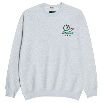 [비욘드클로젯] NAPC 3 STARS LOGO SWEAT SHIRTS GRAY