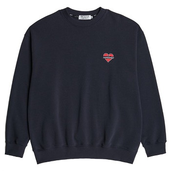 [비욘드클로젯] NOMANTIC BASIC LOGO SWEAT SHIRTS NAVY