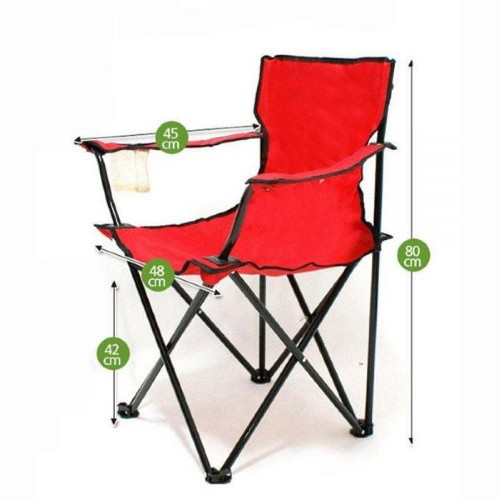 [캠핑등산체어] 팔걸이 캠핑의자 접이식 야외의자 컴홀더 캠핑체어의자등산의자