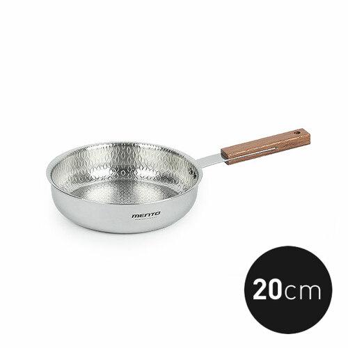 키친아트 멘토 통5중 엠보 인덕션 스텐후라이팬 20cm