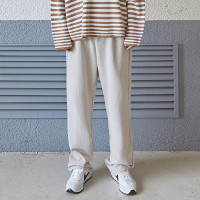 [COUCOU] SOFT WIDE LONG PANTS_LIGHT BEIGE