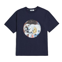 [비욘드클로젯] 50TH EDITION APOLLO CREW 1/2 T-SHIRTS NAVY