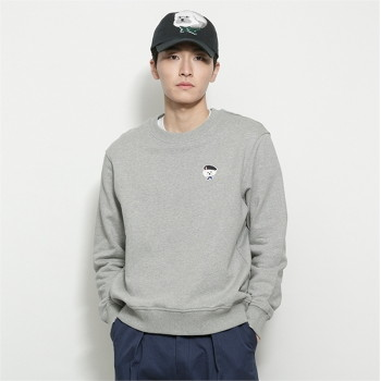 [비욘드클로젯] ILP SIGNATURE PARIS LOGO SWEAT-SHIRTS 2021SPRING GRAY