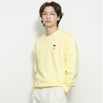 [비욘드클로젯] ILP SIGNATURE PARIS LOGO SWEAT-SHIRTS 2021SPRING YELLOW