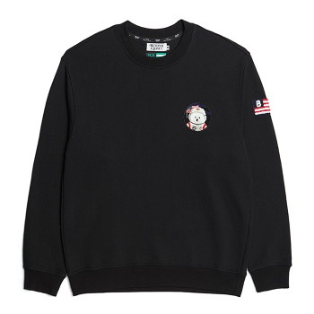 [비욘드클로젯] APOLLO COLLECTION CLASSIC WAPPEN SWEAT-SHIRTS 2021SPRING BLACK