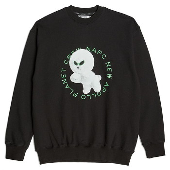 [비욘드클로젯] NAPC ALIEN DOG SWEAT SHIRTS BLACK