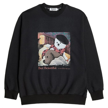 [비욘드클로젯] MOOD FOR LOVE SWEAT SHIRTS BLACK