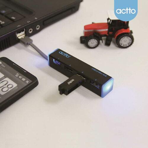 ACTTO 엑토 [P] 울트라 슬림 USB 허브 HUB-13