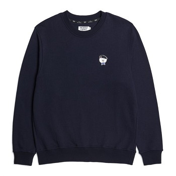 [비욘드클로젯] ILP SIGNATURE PARIS LOGO SWEAT-SHIRTS 2021SPRING NAVY