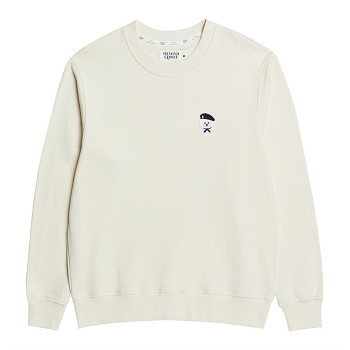 [비욘드클로젯] ILP SIGNATURE PARIS LOGO SWEAT-SHIRTS 2021SPRING IVORY