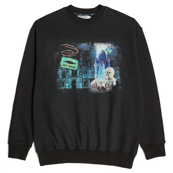 [비욘드클로젯] NAPC CITY PRINT SWEAT SHIRTS BLACK