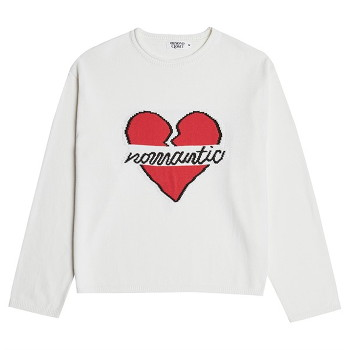 [비욘드클로젯] NOMANTIC OG LOGO KNIT IVORY