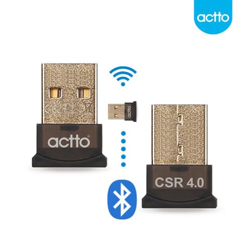 actto 엑토 [P] 큐 블루투스 4.0 USB 동글 BTR-01