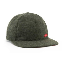 [토포디자인]WOOL BALL CAP OLIVE TDBC015