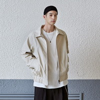 [COUCOU] COTTON RAGLAN BLOUSON_LIGHT BEIGE
