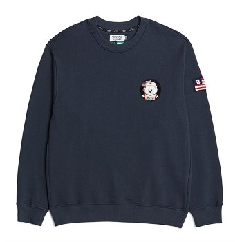 [비욘드클로젯] APOLLO COLLECTION CLASSIC WAPPEN SWEAT-SHIRTS 2021SPRING NAVY