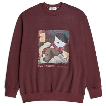 [비욘드클로젯] MOOD FOR LOVE SWEAT SHIRTS BURGUNDY