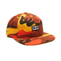 [오베이]RESIST 6 PANEL HAT (FIELD ORANGE CAMO)