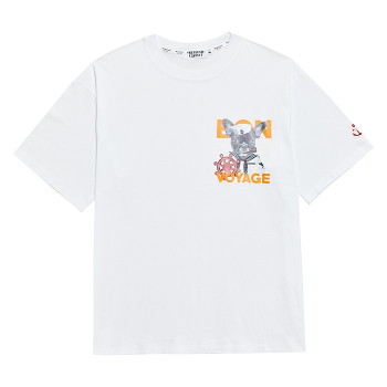 [비욘드클로젯] VOYAGE BULLDOG 1/2 T-SHIRTS WHITE