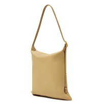 HIEMS 56 PILLOW SHOULDER BAG YELLOW BEIGE