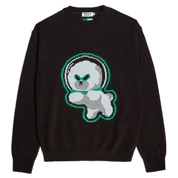 [비욘드클로젯] NAPC ALIEN DOG KNIT BLACK