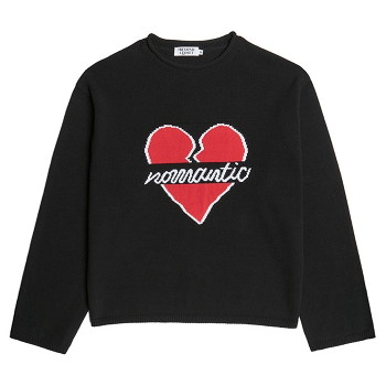 [비욘드클로젯] NOMANTIC OG LOGO KNIT BLACK