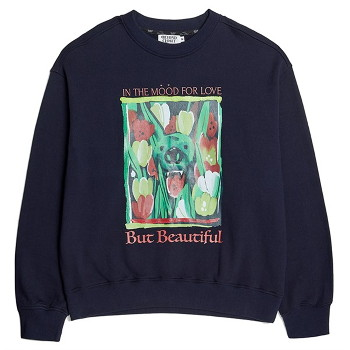 [비욘드클로젯] CONTEMPORARY DRAWING SWEAT SHIRTS NAVY