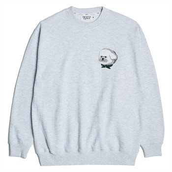 HQ CLASSIC FIT SWEAT SHIRTS GRAY